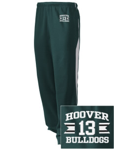 Hoover Elementary School Bulldogs Embroidered Holloway Men's Pivot Warm Up Pants