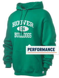 Hoover Elementary School Bulldogs Russell Men's Dri-Power Hooded Sweatshirt