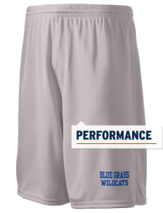 "Blue Grass Elementary School Wildcats Holloway Men's Speed Shorts, 9"" Inseam"
