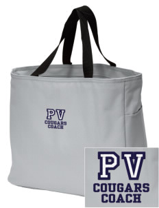 Pleasant View Elementary School Cougars Embroidered Essential Tote
