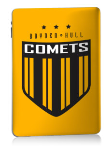 Boyden-Hull High School Comets Apple iPad Skin