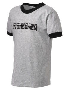 Roland-Story High School Norsemen Kid's Ringer T-Shirt