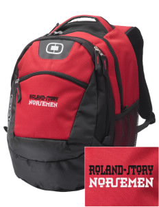 Roland-Story High School Norsemen Embroidered OGIO Rogue Backpack