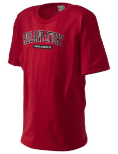 Roland-Story High School Norsemen Kid's Organic T-Shirt
