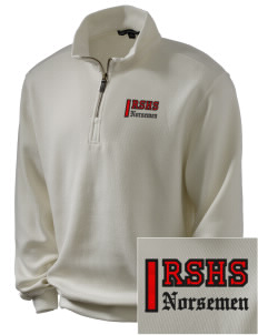 Roland-Story High School Norsemen Embroidered Men's 1/4-Zip Sweatshirt