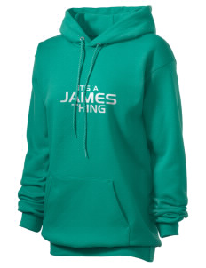 James Elementary School Jets Unisex Hooded Sweatshirt