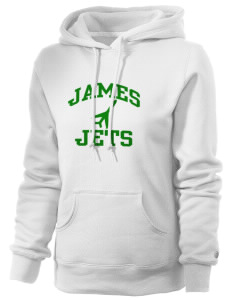 James Elementary School Jets Russell Women's Pro Cotton Fleece Hooded Sweatshirt