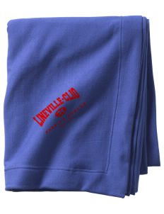 Lineville-Clio Community School Eagles  Sweatshirt Blanket