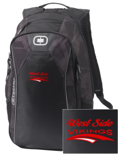 West Side School Vikings Embroidered OGIO Marshall Backpack