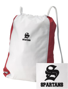 East Middle School Spartans Embroidered Holloway Home and Away Cinch Bag