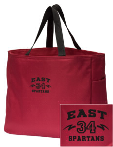 East Middle School Spartans Embroidered Essential Tote