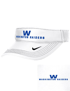 Washington Elementary School Raiders Embroidered Nike Golf Dri-Fit Swoosh Visor