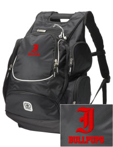 Irving Primary Center Bullpups  Embroidered OGIO Bounty Hunter Backpack