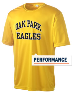 Oak Park Elementary School Eagles Men's Competitor Performance T-Shirt