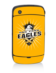Oak Park Elementary School Eagles Black Berry 8530 Curve Skin