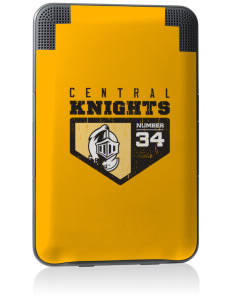 Central High School Knights Kindle Keyboard 3G Skin