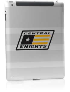 Central High School Knights Apple iPad 2 Skin