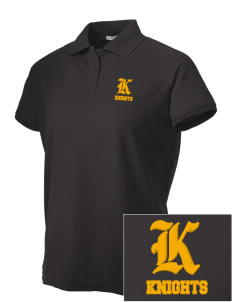 Central High School Knights Embroidered Women's Technical Performance Polo