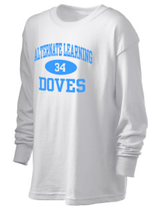 Alternate Learning School Doves Kid's 6.1 oz Long Sleeve Ultra Cotton T-Shirt