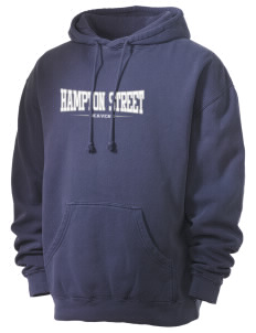 Hampton Street Elementary School Beavers Men's 80/20 Pigment Dyed Hooded Sweatshirt