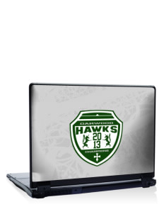 "Oakwood High School Hawks 17"" Laptop Skin"