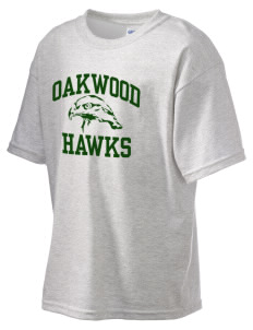 Oakwood High School Hawks Kid's 6.1 oz Ultra Cotton T-Shirt