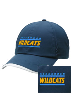 Alexander Elementary School Wildcats Embroidered Nike Dri-FIT Swoosh Perforated Cap