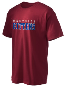 Westside Elementary School Kittens Hanes Men's 6 oz Tagless T-shirt