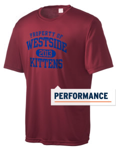 Westside Elementary School Kittens Men's Competitor Performance T-Shirt