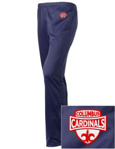 Columbus Elementary School Cardinals Embroidered Holloway Women's Contact Warmup Pants