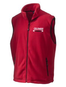 Columbus Elementary School Cardinals Embroidered Unisex Wintercept Fleece Vest
