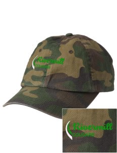 Rivermill Elementary School Cougars Embroidered Camouflage Cotton Cap