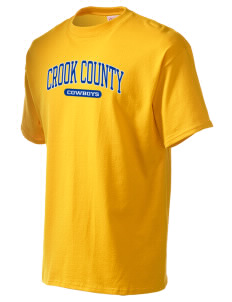 Crook County High School Cowboys Men's Essential T-Shirt