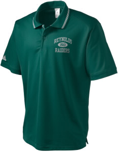 Reynolds High School Raiders adidas Men's ClimaLite Athletic Polo