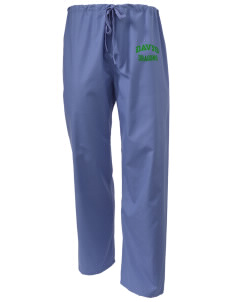 Davis Elementary School Dragons Scrub Pants