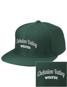 Chehalem Valley Middle School Wolves Embroidered Diamond Series Fitted Cap