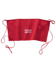 Tilden Elementary School Hawks Waist Apron with Pockets
