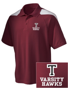 Tilden Elementary School Hawks Embroidered Holloway Men's Frequency Performance Pique Polo