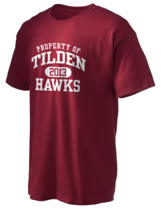 Tilden Elementary School Hawks Hanes Men's 6 oz Tagless T-shirt