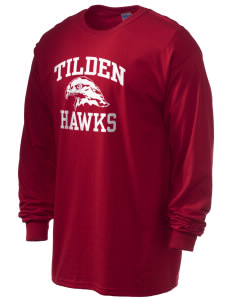 Tilden Elementary School Hawks 6.1 oz Ultra Cotton Long-Sleeve T-Shirt