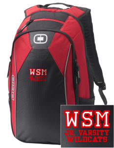 Walter S Miller Elementary School Wildcats Embroidered OGIO Marshall Backpack