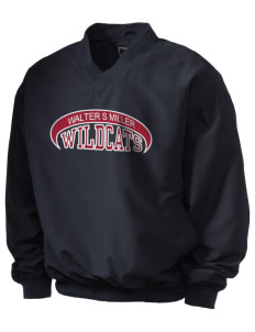 Walter S Miller Elementary School Wildcats Holloway Men's Wind Shirt with Tackle Twill