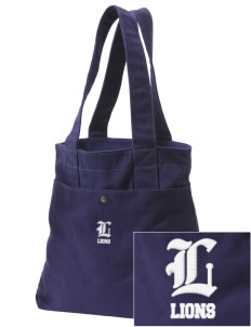 Hoover Elementary School Lions Embroidered Alternative The Berkeley Tote
