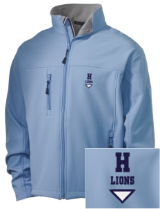 Hoover Elementary School Lions Embroidered Men's Soft Shell Jacket
