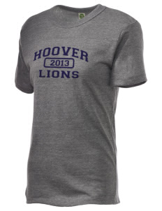 Hoover Elementary School Lions Embroidered Alternative Unisex Eco Heather T-Shirt