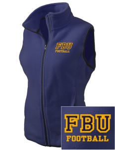 Football University Seattle Football Embroidered Women's Fleece Vest
