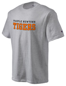 Marple Newtown High School Tigers Champion Men's Tagless T-Shirt