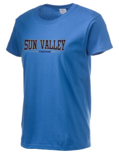 Sun Valley High School Vanguards Women's 6.1 oz Ultra Cotton T-Shirt