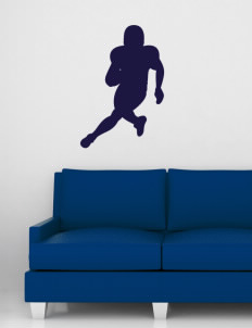 "Sun Valley High School Vanguards Wall Silhouette Decal 20"" x 32"""