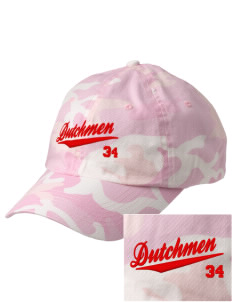 South Saint Marys Elementary School Dutchmen Embroidered Camouflage Cotton Cap